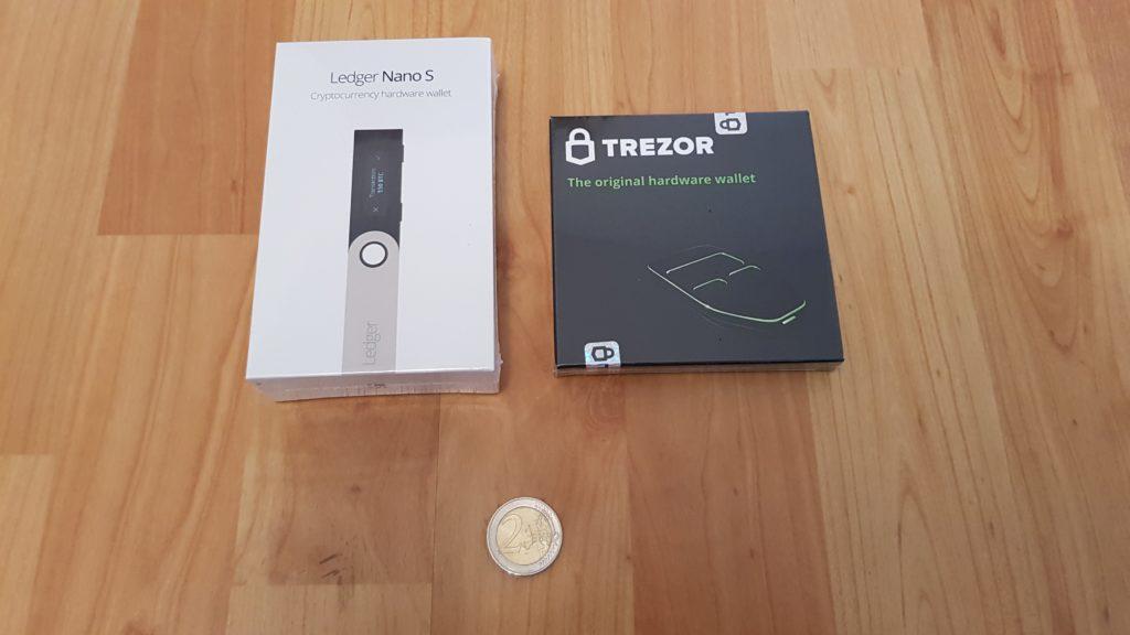 Ledger-Wallet-Nano-S-und-Trezor-Wallet-One-Vergleich