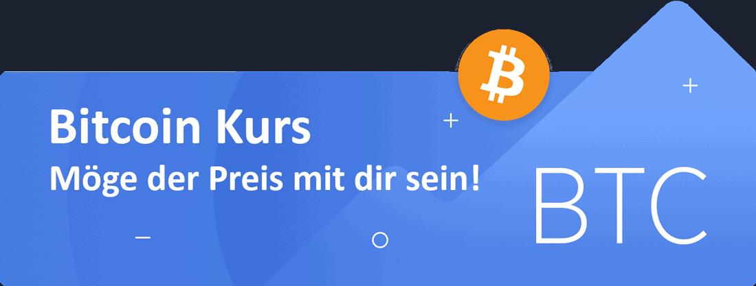 Bitcoin-Kurs-Banner