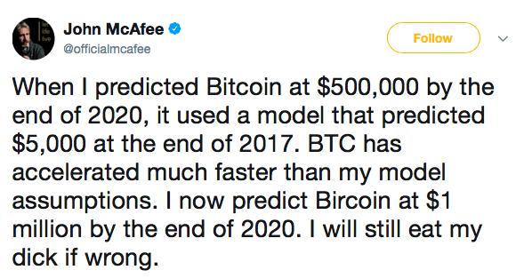 Tweet-John-McAfee-Kryptowährungen