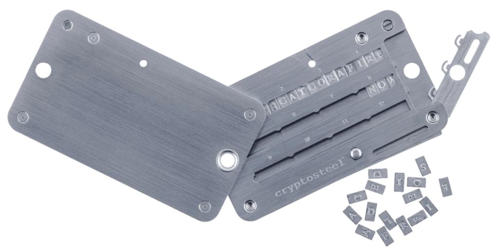 Trezor-Wallet-Cryptosteel-Schutz-Metall