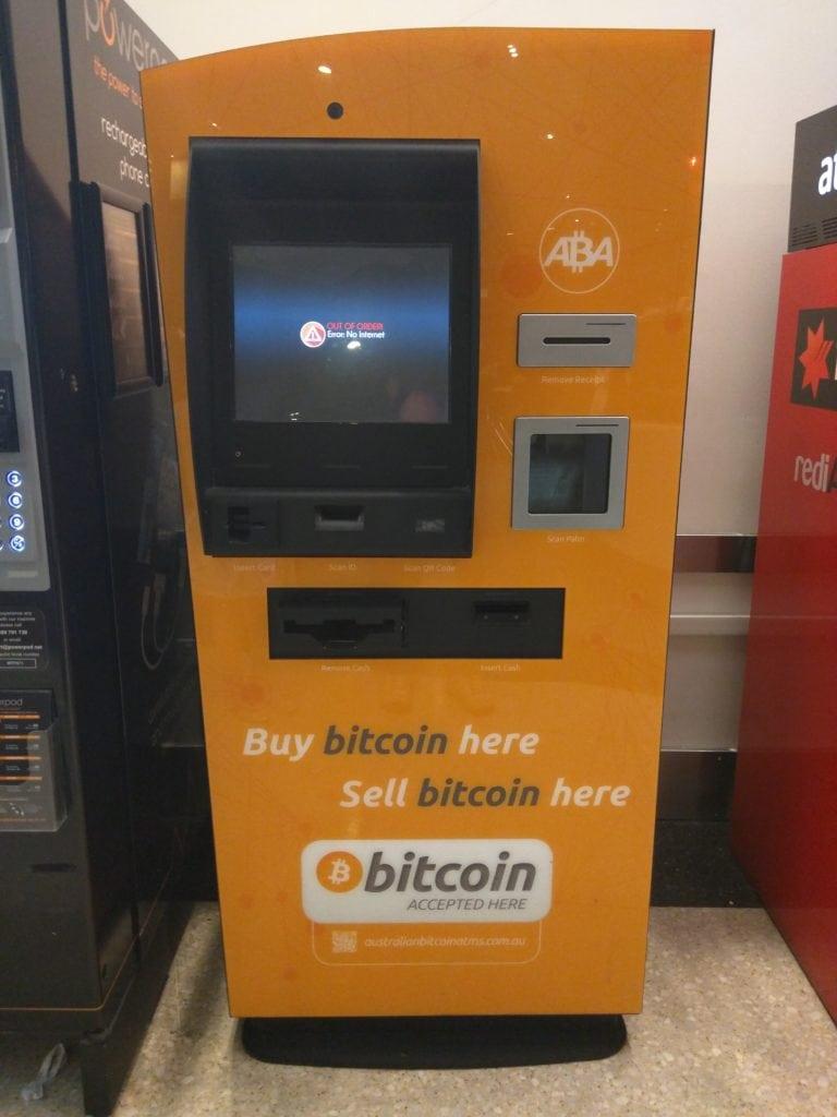 Bitcoin-ATM-Geldautomat