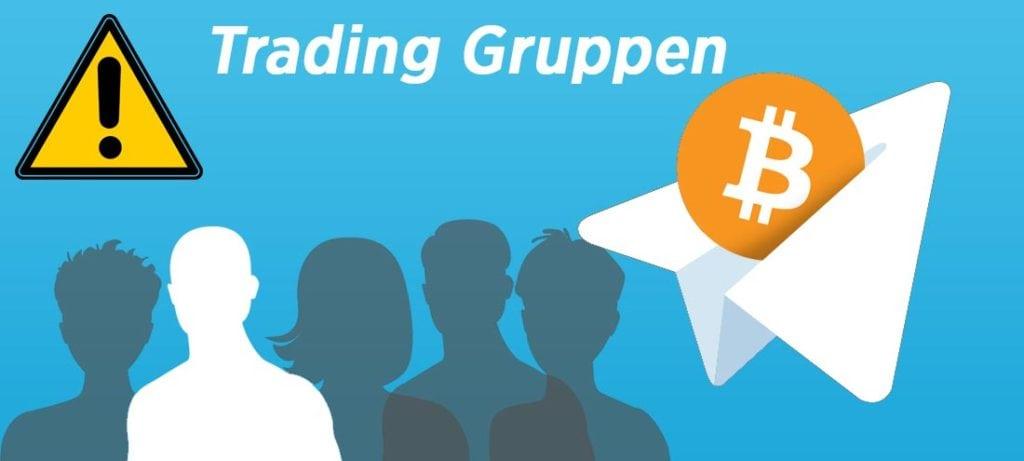 Trading-Gruppe-Info-Grafik