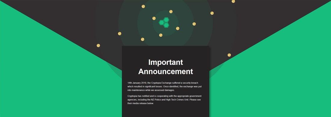 Cryptopia-Hack-2018-Zusammenfassung-Banner
