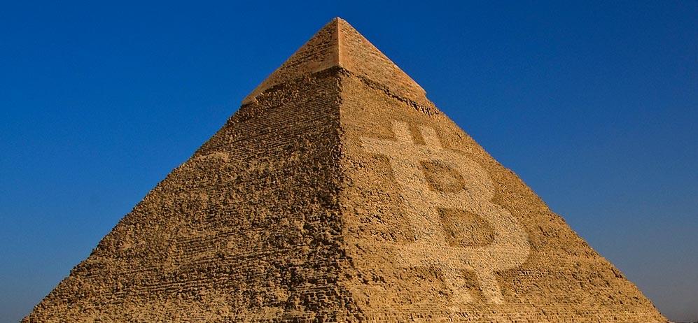 Bitcoin Schneeballsystem Pyramidensystem Ponzi Betrug