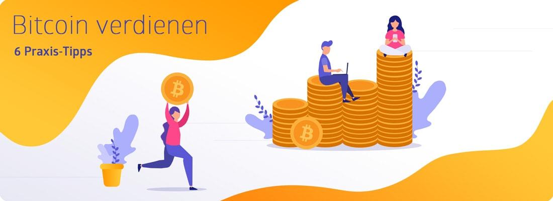 Bitcoin verdienen Banner