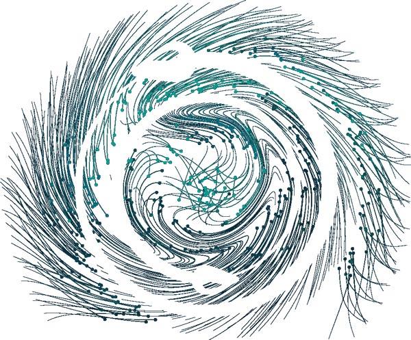 Visualisierung des Ouroboros Protokolls