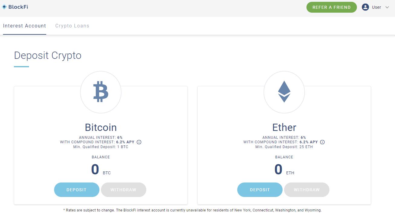 blockfi bitcoins verdienen