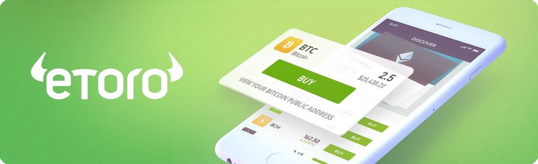 eToro Bitcoin Broker Banner