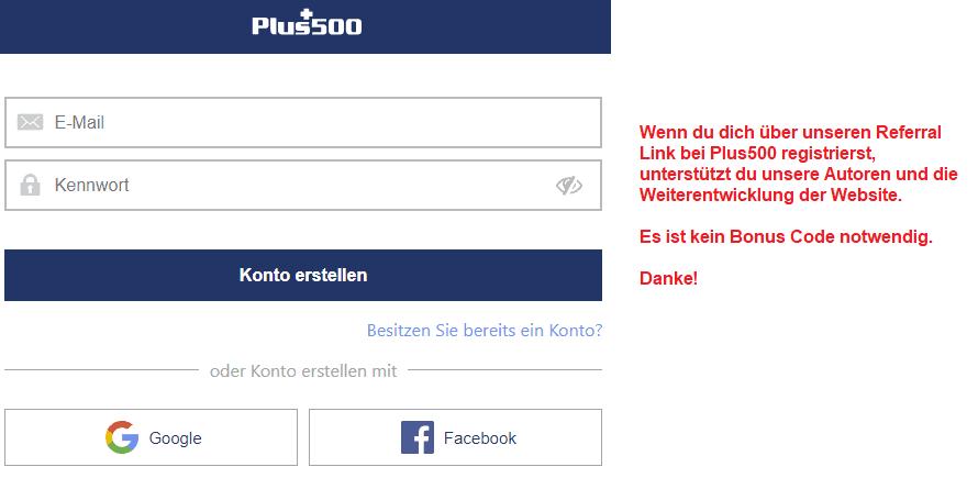 Plus500 Deal
