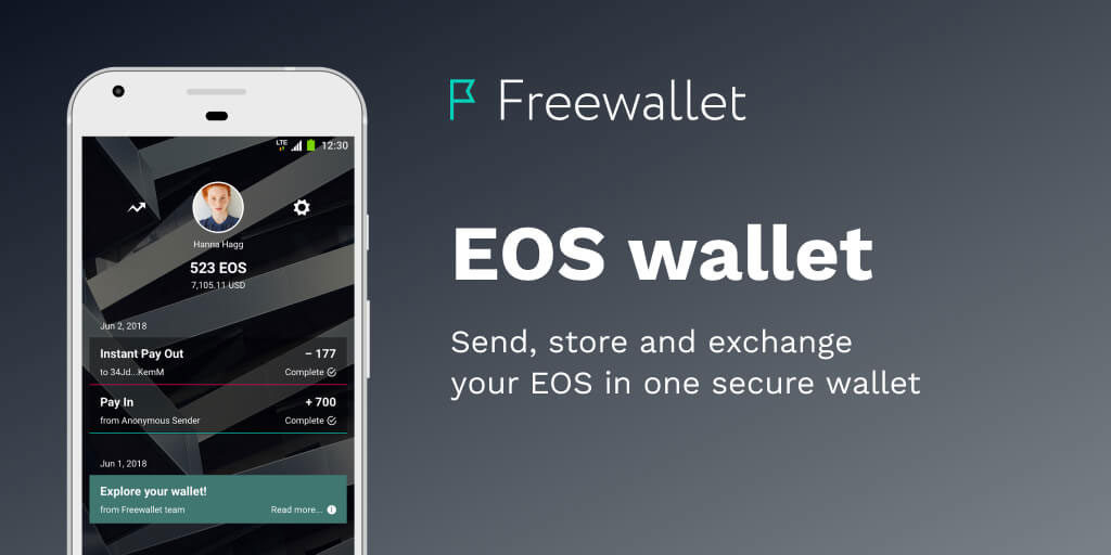 EOS Mobile Wallet