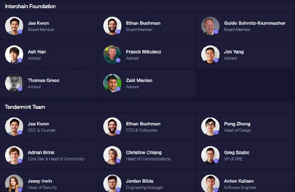 Screenshot Cosmos Team