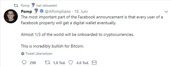 Facebook Coin Libra Bitcoin