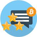 Kryptowährung bewerten Icon