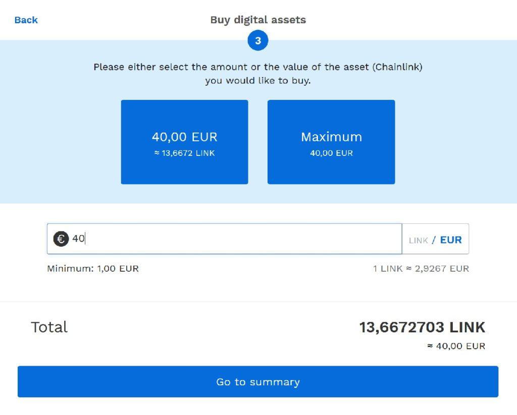 LINK Kryptowährung kaufen