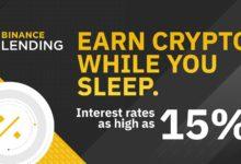 Binance Lending – Geld verdienen mit Krypto-Festzins 7-15%