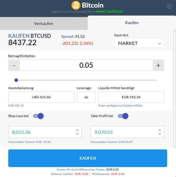 Bitcoin kaufen Skilling Broker