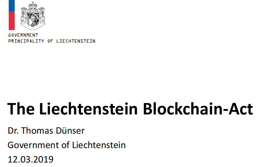blockchain act
