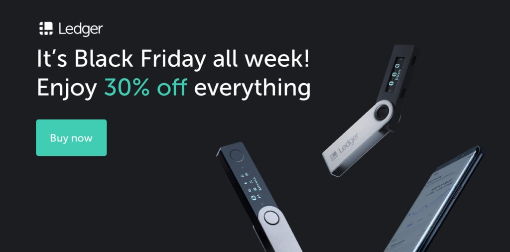 ledger black friday