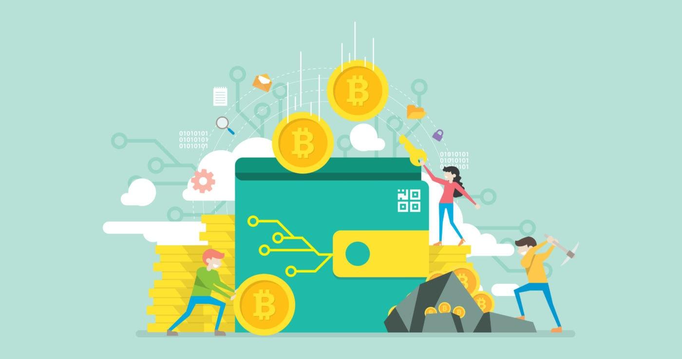 Ein Bitcoin Paper Wallet