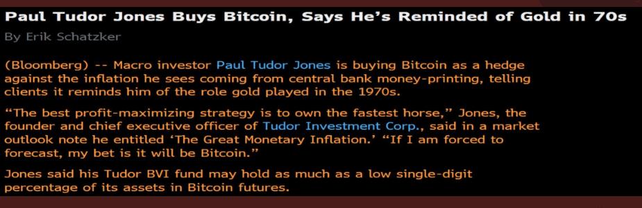 Bitcoin könnte der Inflation entgegen wirken