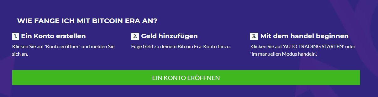 Bitcoin Era Anmeldung