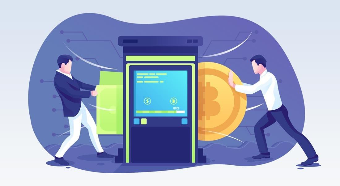 Krypto Börsen - Illustration