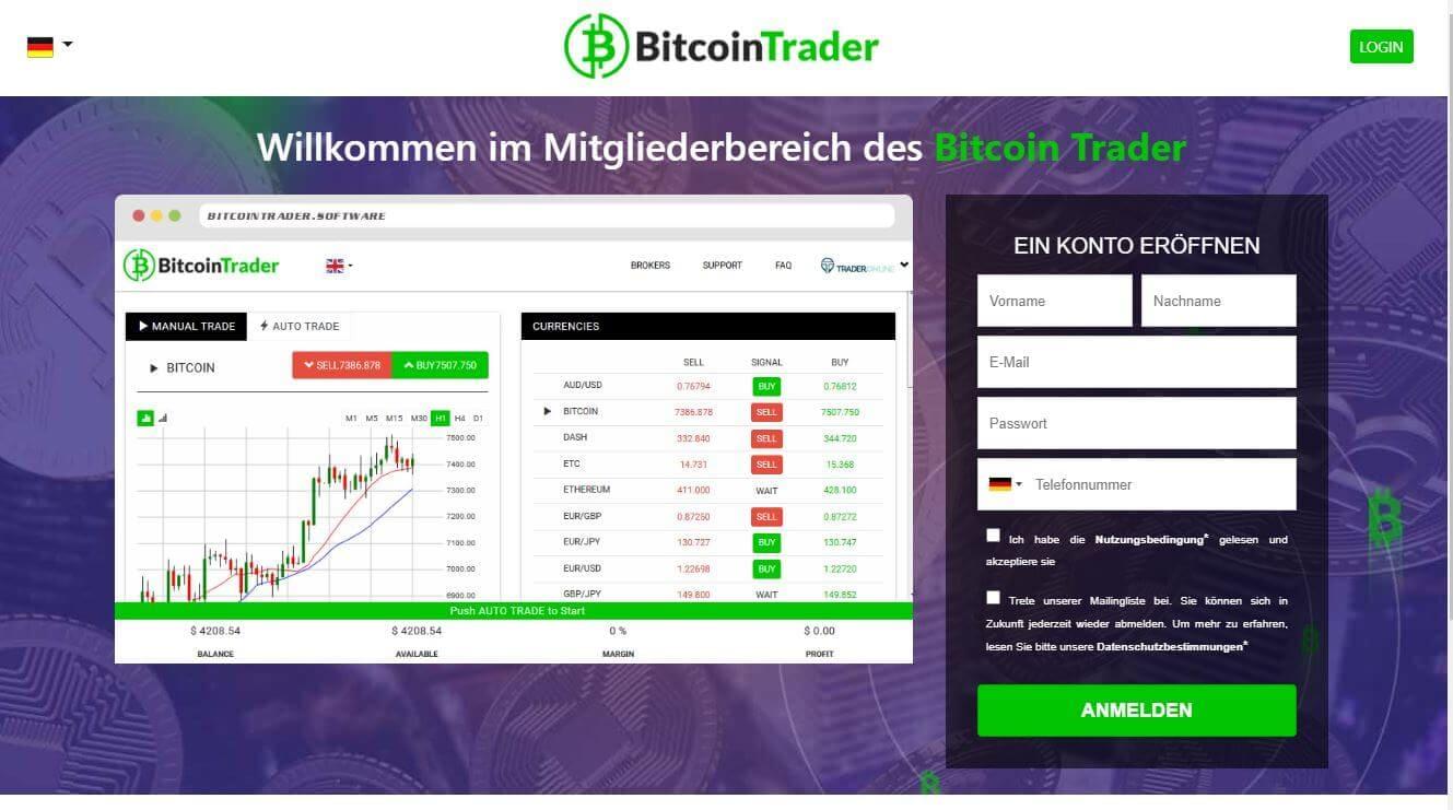 Bitcoin Trader è una Truffa o funziona davvero? Ecco l'Analisi completa
