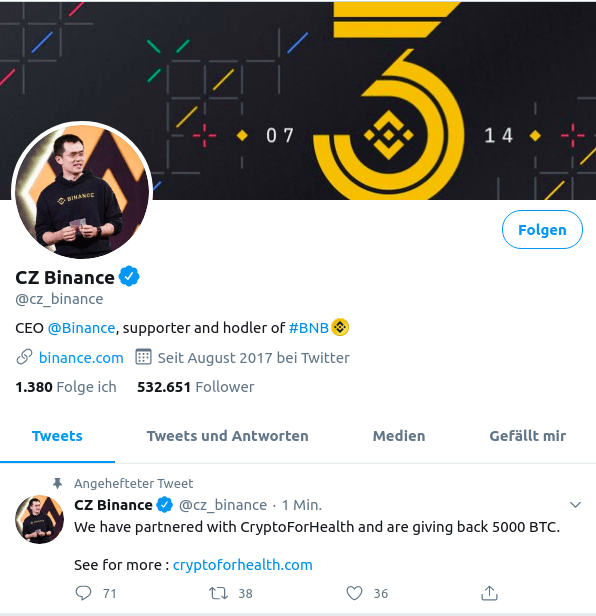 cz binance hack