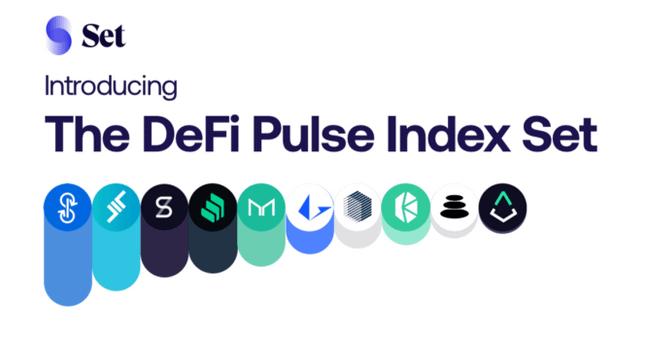 DeFi Pulse Index Set