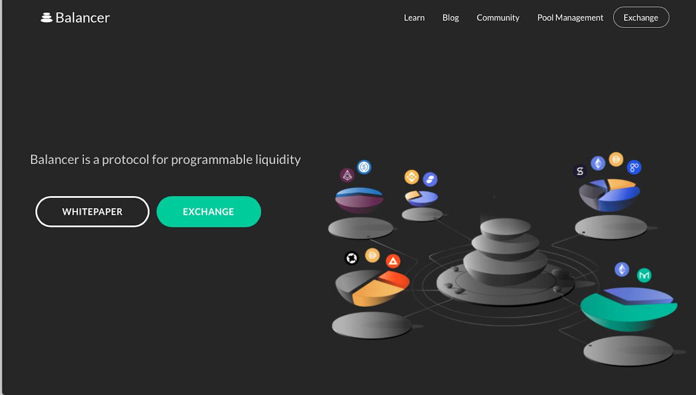 Balancer Webseite