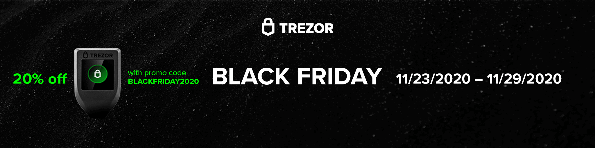 Trezor Black Friday Sale