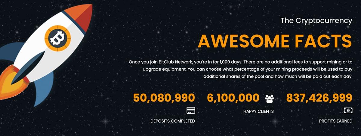 Bitcoin Network Versprechen
