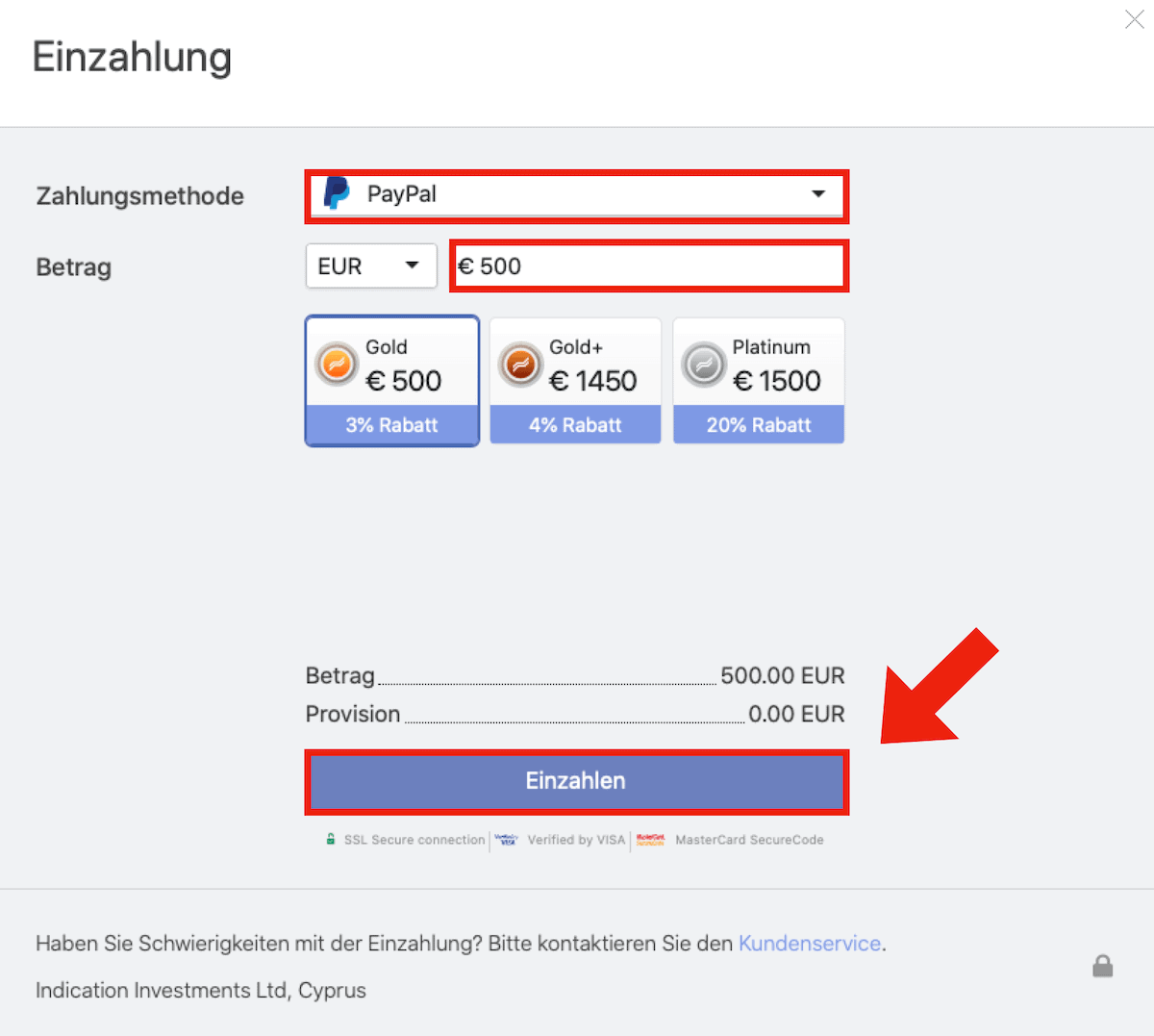 Libertex Polkadot kaufen PayPal
