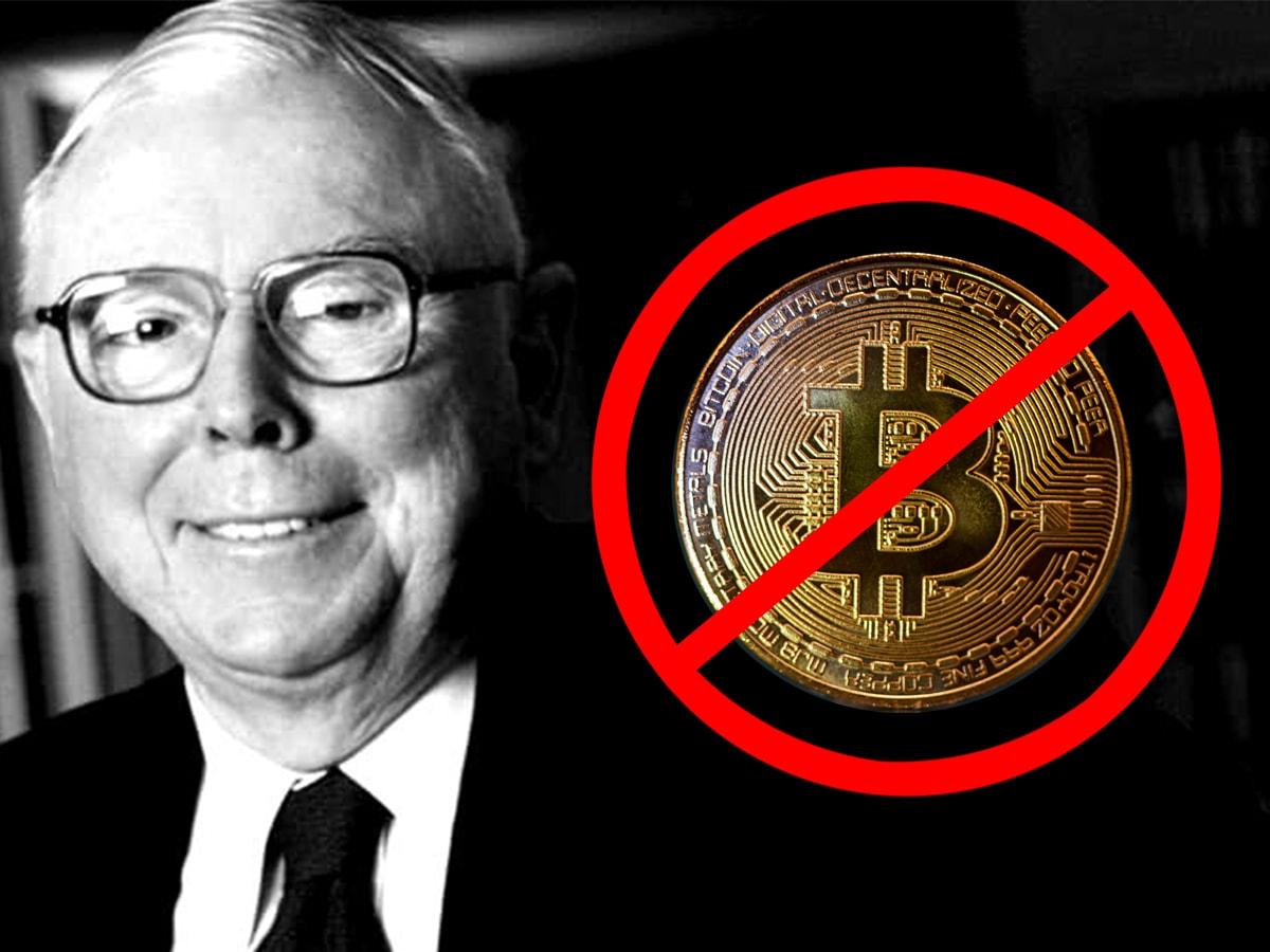 Charlie Munger hasst Bitcoin