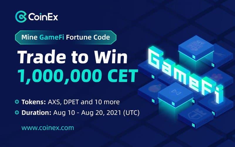 CoinEx GameFi Aktion